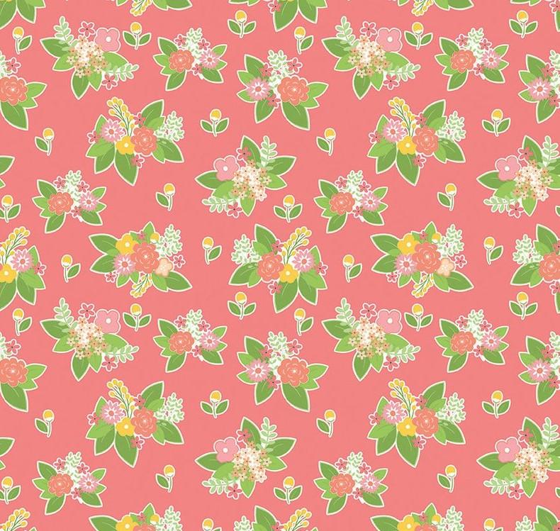 Vintage Adventure - Floral Pink