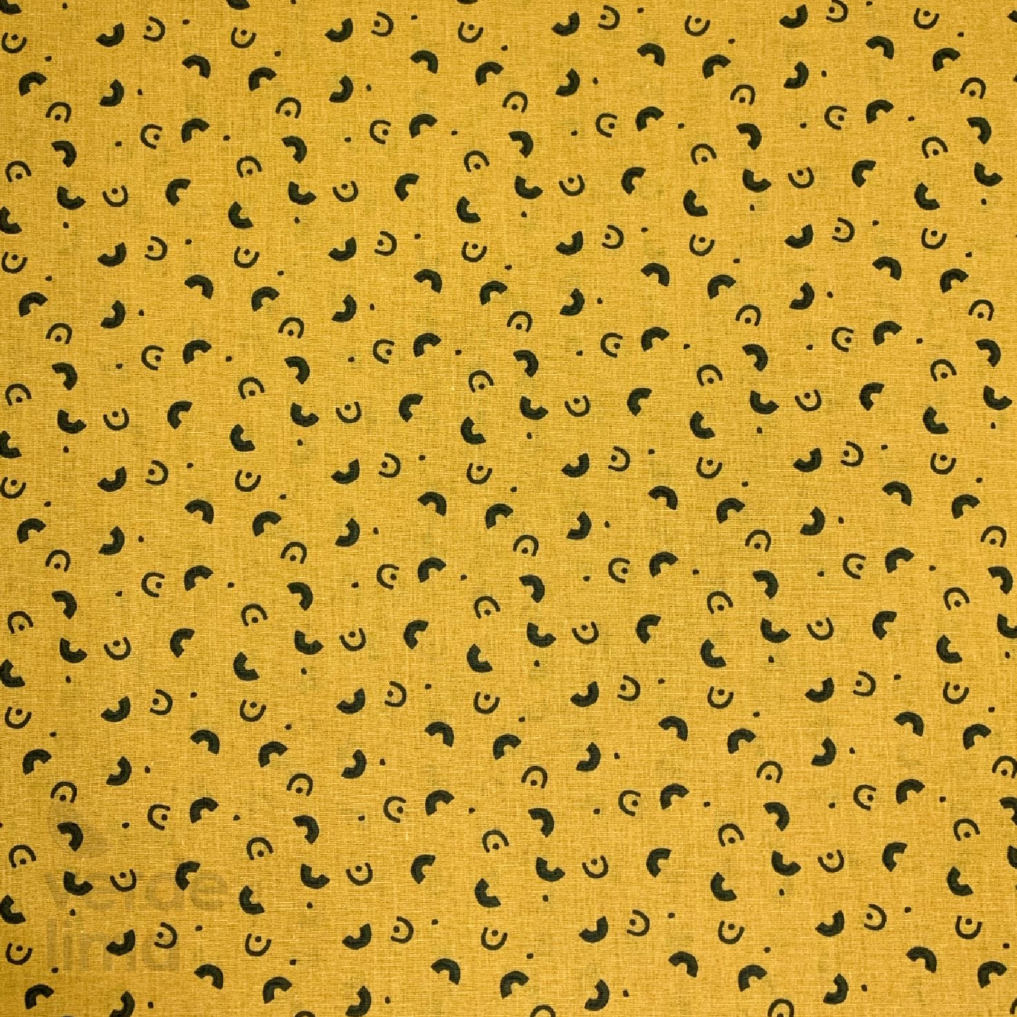 Astro kitty and friends - arcos fundo amarelo