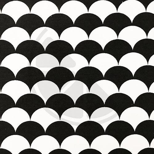 Loneta - Scales preto e branco