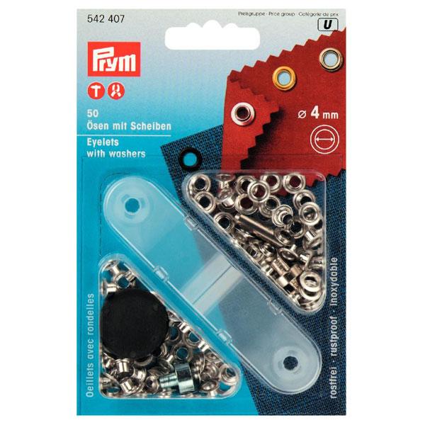 Ilhoses 4mm com anilha