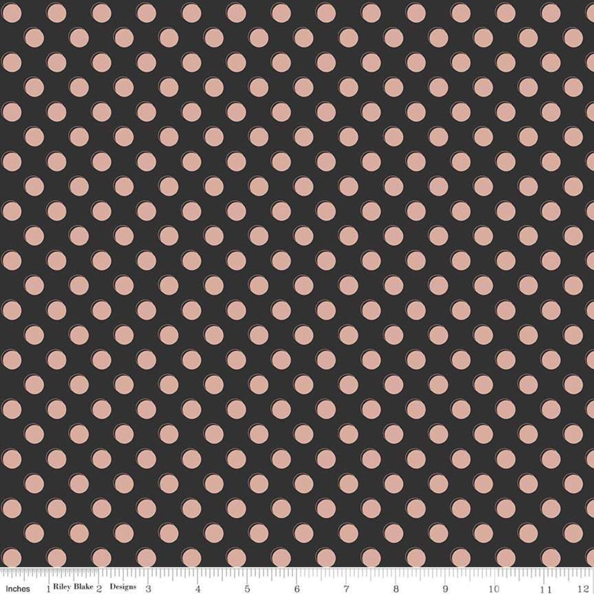 Bliss - Dots Black Sparkle