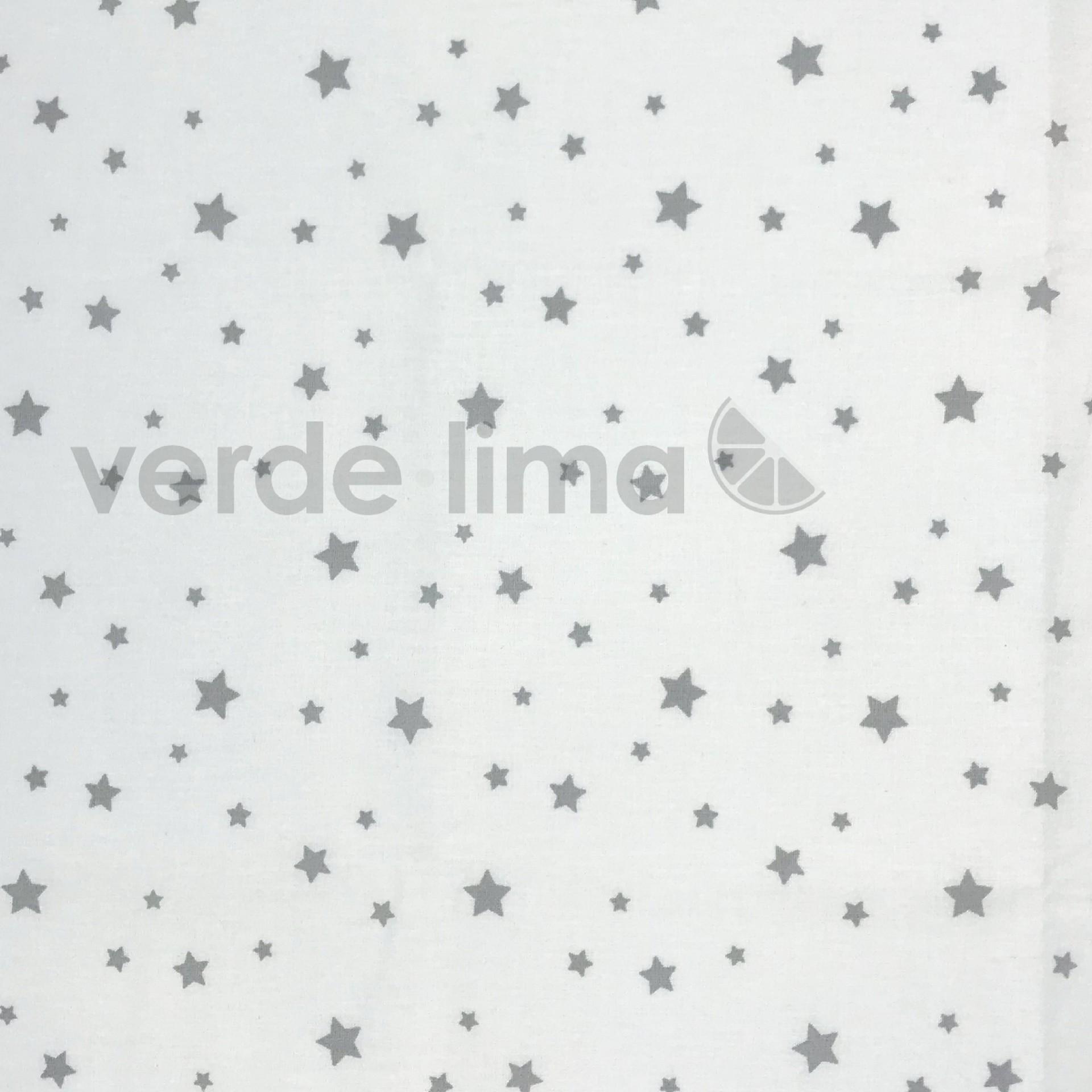 Estrelas fundo branco