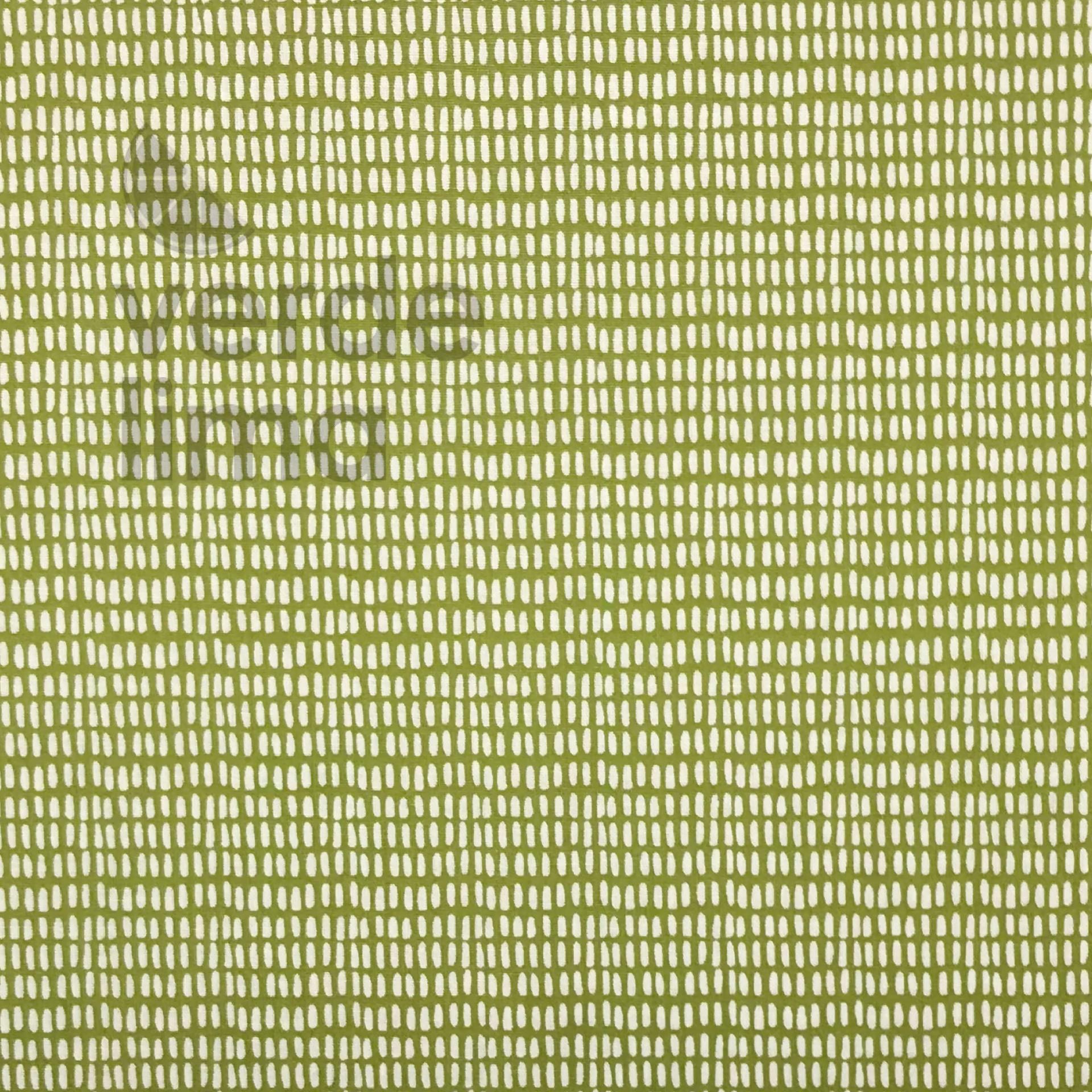 Traços verde lima
