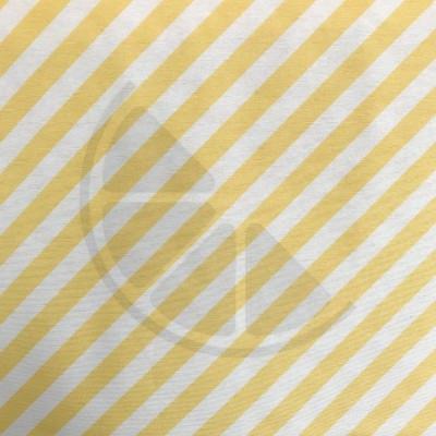 Loneta - Riscas amarelo e branco