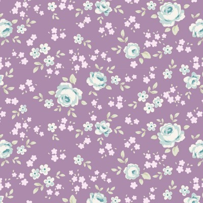 Tilda - Old Rose - Kit de fat quarters lavender and lilac