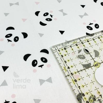 Panda - White and Pink