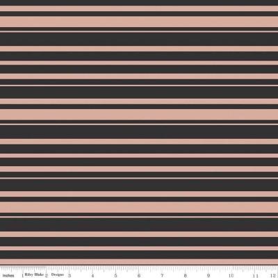 Bliss - Stripes Black Sparkle