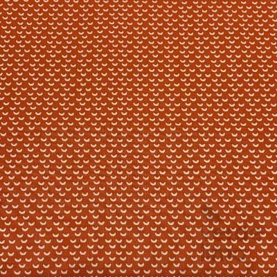 Escamas vermelho alaranjado