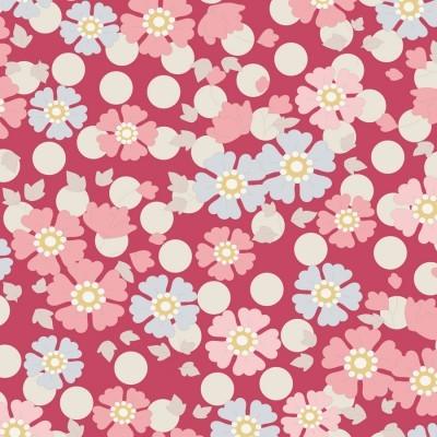 Tilda - Plum Garden - Windflower Red