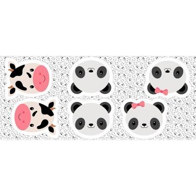 Pillows - Vaquinha e pandas