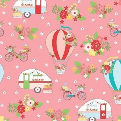 Vintage Adventure - Main Pink
