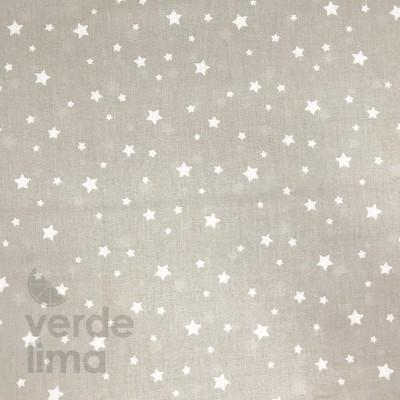 Estrelas fundo cinza claro