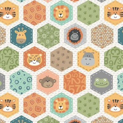 Jungle Friends - Hexagons