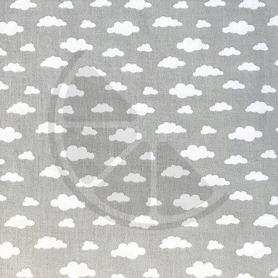 Nuvens fundo cinzento
