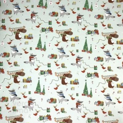 Algodão orgânico - Objectos de Natal
