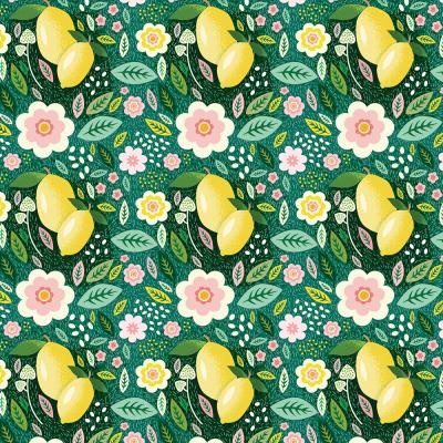 Siciliano - Limão Fundo Verde