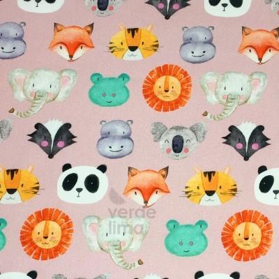 Panda friends - Rosa