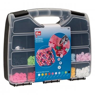 Caixa para alicate com 300 molas de plástico Prym