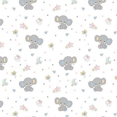 Sweet elephant  - Fundo Branco