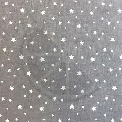 Estrelas fundo cinzento