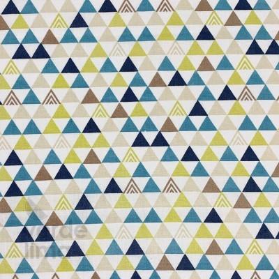 Dino triângulos - azuis
