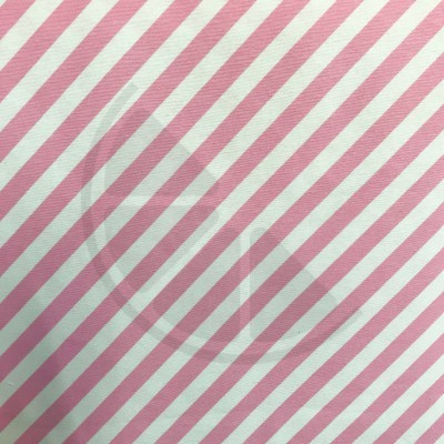 Loneta - Riscas rosa e branco