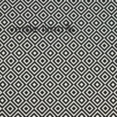 Licra - Geométrico preto e branco