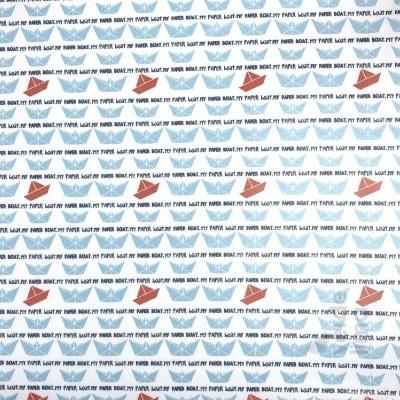 Barcos de papel (plastificado)