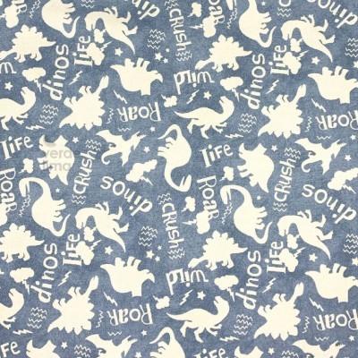 Roar - dinossauros fundo azul