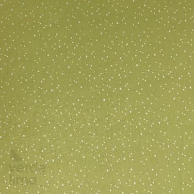Palm leaves - pontos verde lima