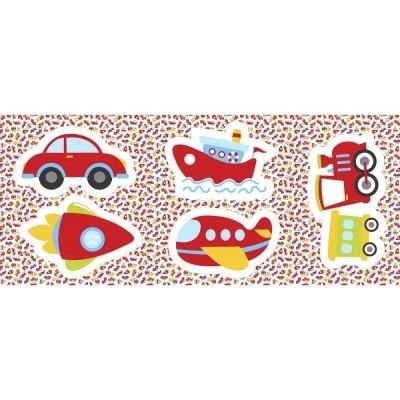 Pillows - Carro, foguetão, avião, barco e comboio