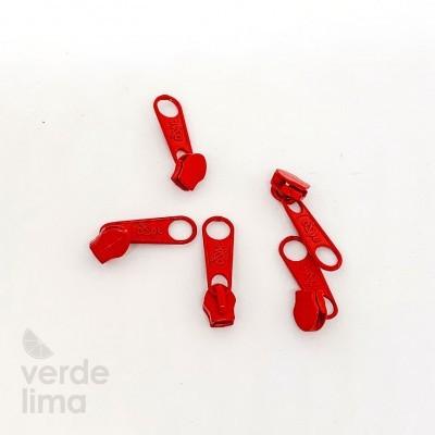 Cursores de fecho zipper malha 3