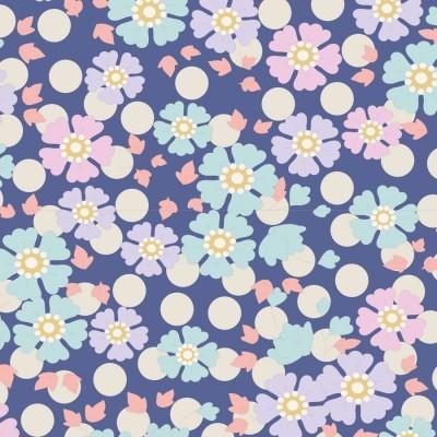 Tilda - Plum Garden - Windflower Blueberry