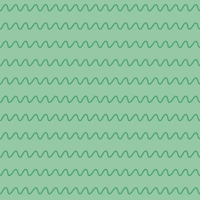 Selva Colorida - ondas verde