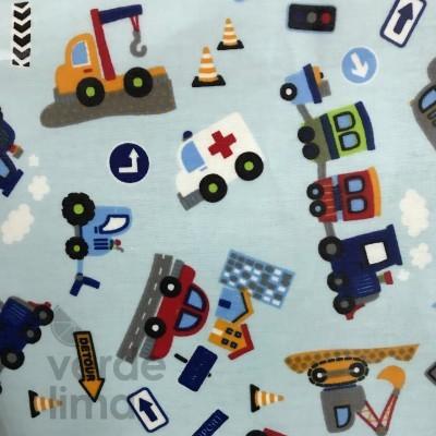 Camiões e companhia (plastificado)