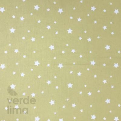 Estrelas fundo amarelo