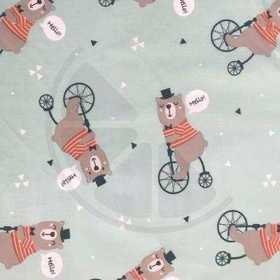Ursos na bicicleta