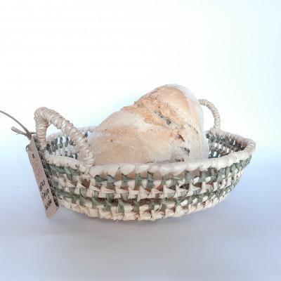 Cesta Multiuso (Pão) de Palma Algarvia com asa