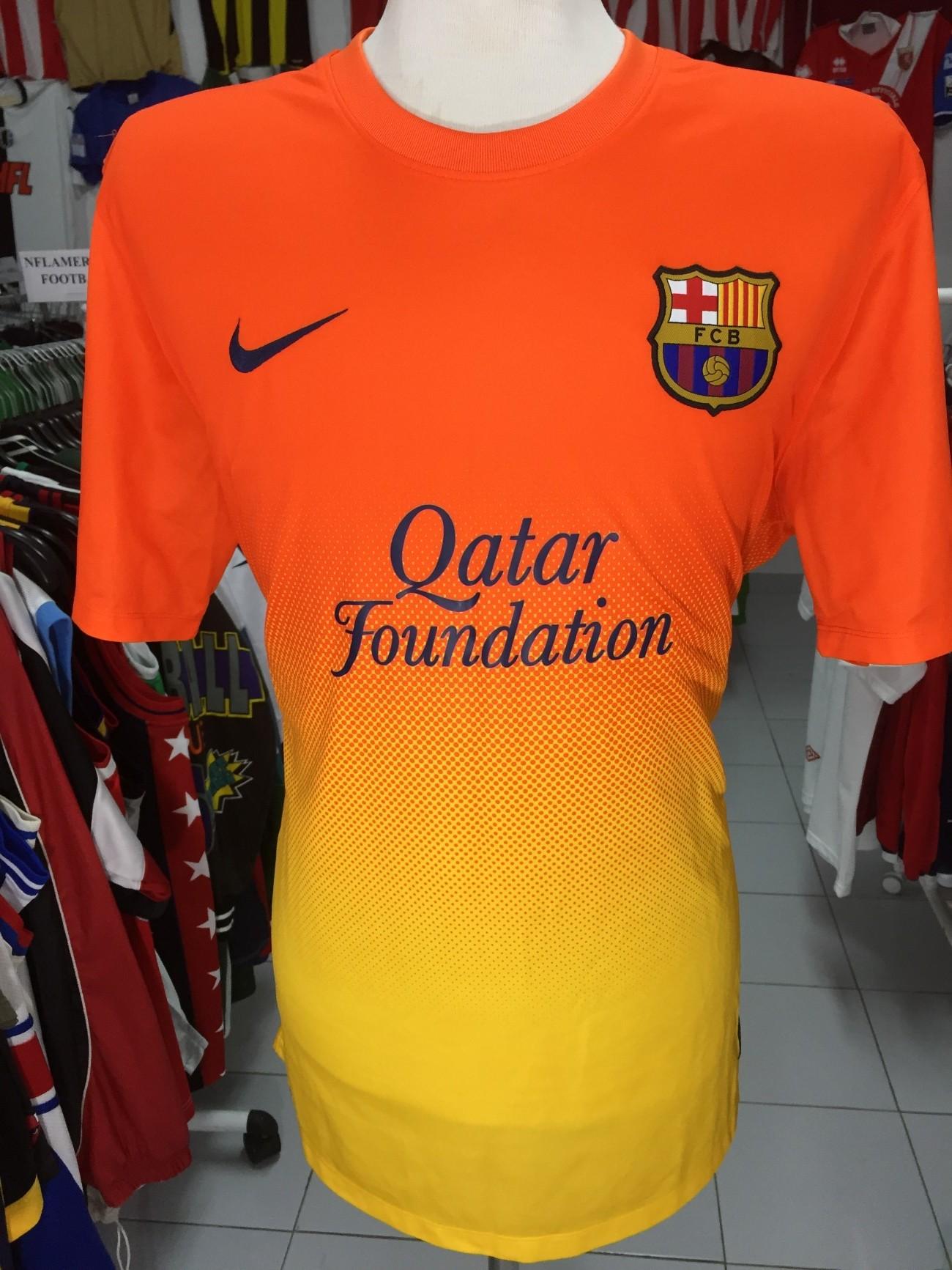79c6521b50a FC Barcelona Away Shirt 2012-13 (XL) Camiseta Nike Camisola Jersey ...