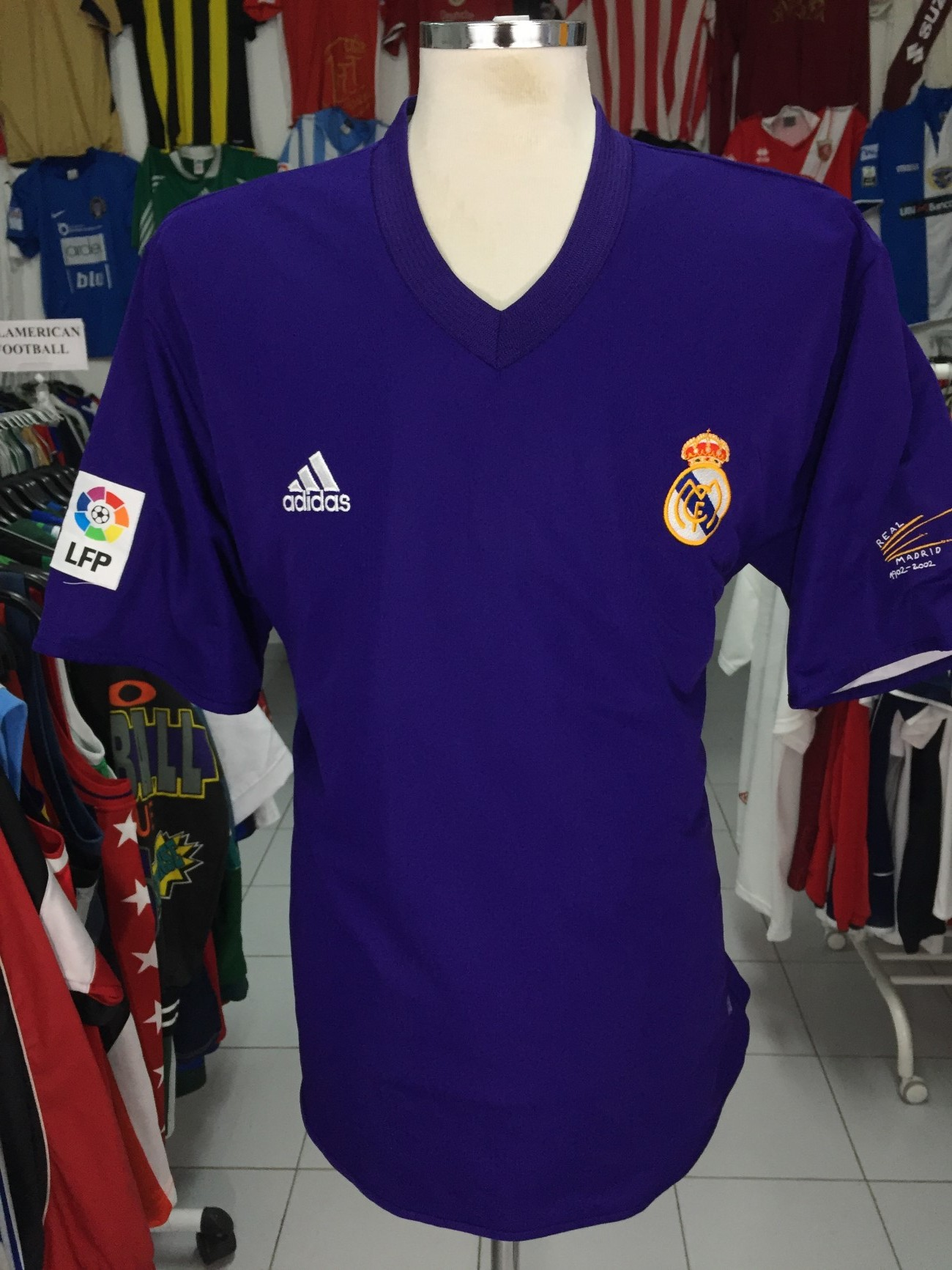459ba978f Centenary Real Madrid Away Shirt 2002-03 (XL) Camiseta Centenario ...