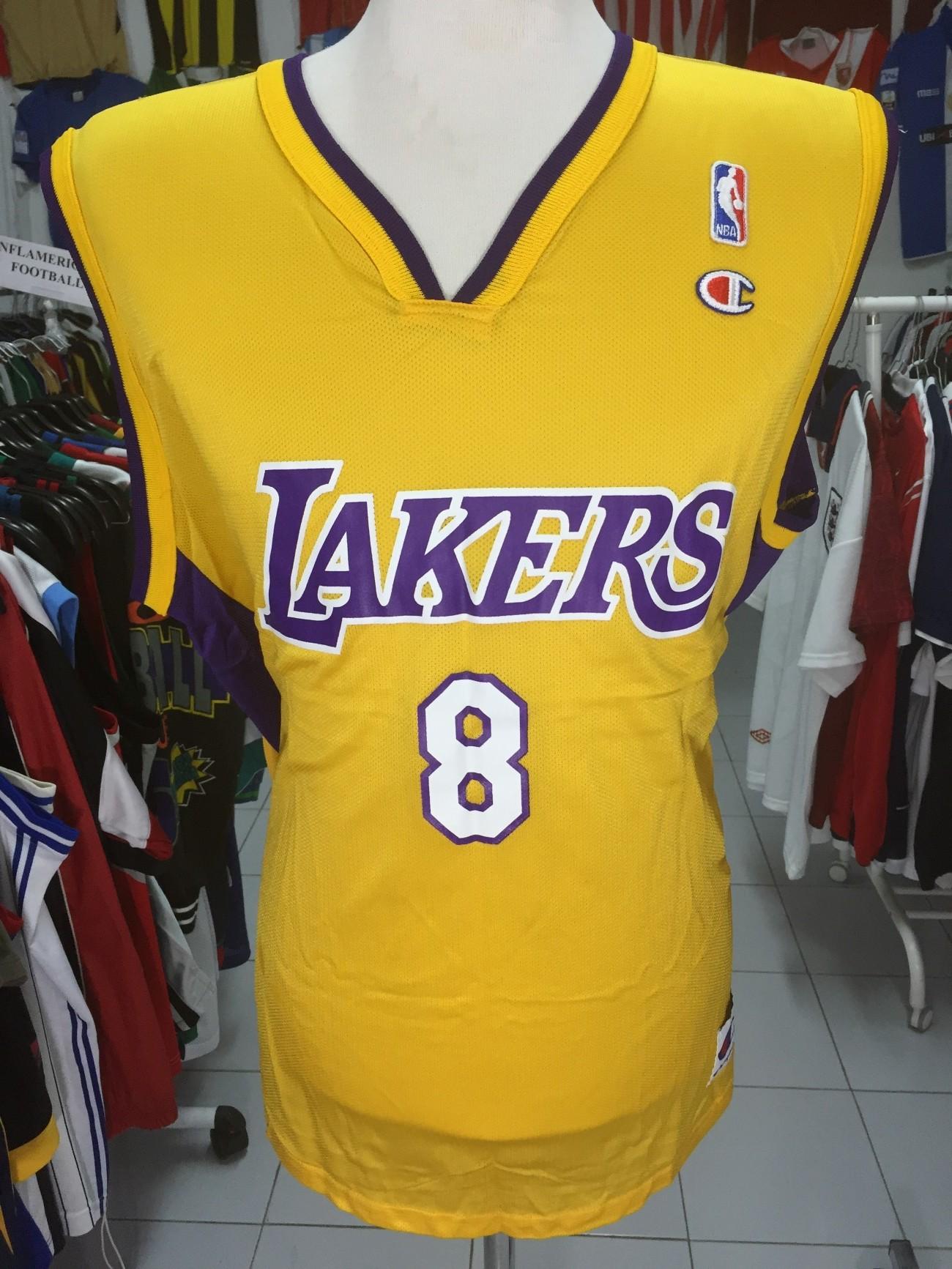 f8445ee3b7de LA Los Angeles Lakers  8 Bryant Jersey Shirt (44 NBA Champion ...