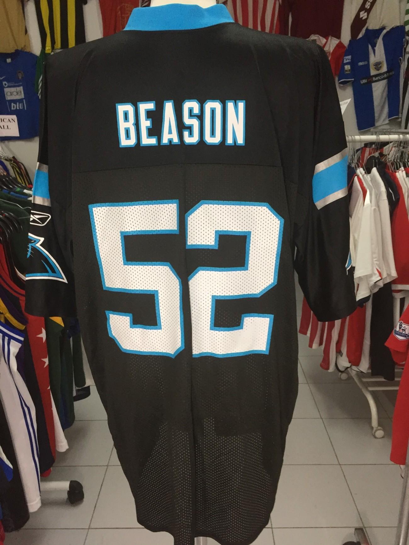 factory authentic a48ce 2fbb1 Carolina Panthers NFL Shirt (XL) #52 Beason Jersey Reebok Camisola |  Vintage Sports Classic Football Shirts Jerseys Camisolas Futebol NBA