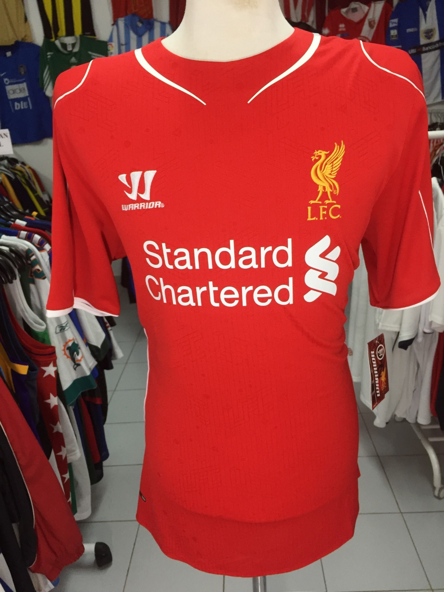 7ca580d3d BNWT Liverpool FC Home Football Shirt 2014-15 (XL) Jersey Camisola ...