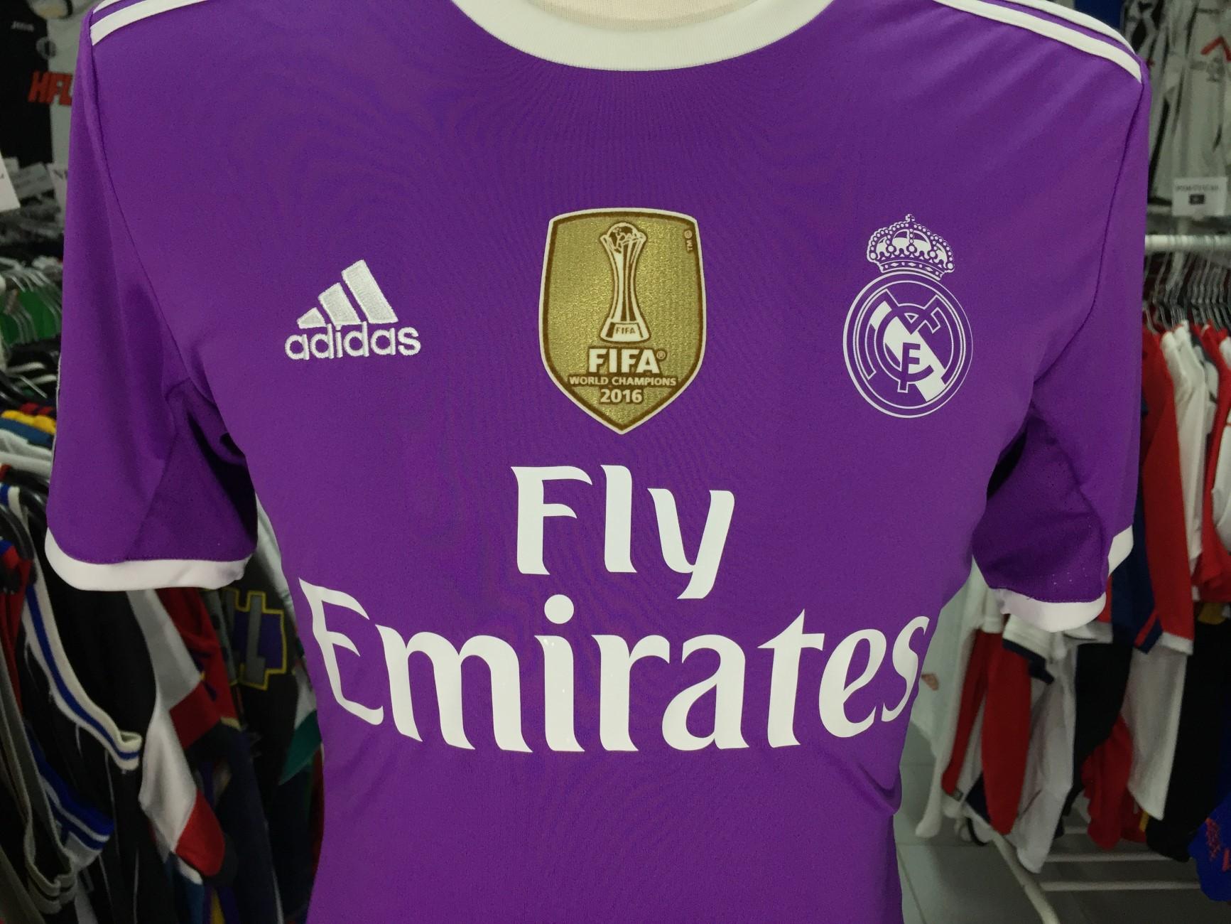 dd49062bad1a6 Real Madrid Away Shirt 2016-17 (S) Adidas CAmiseta Camisola ...