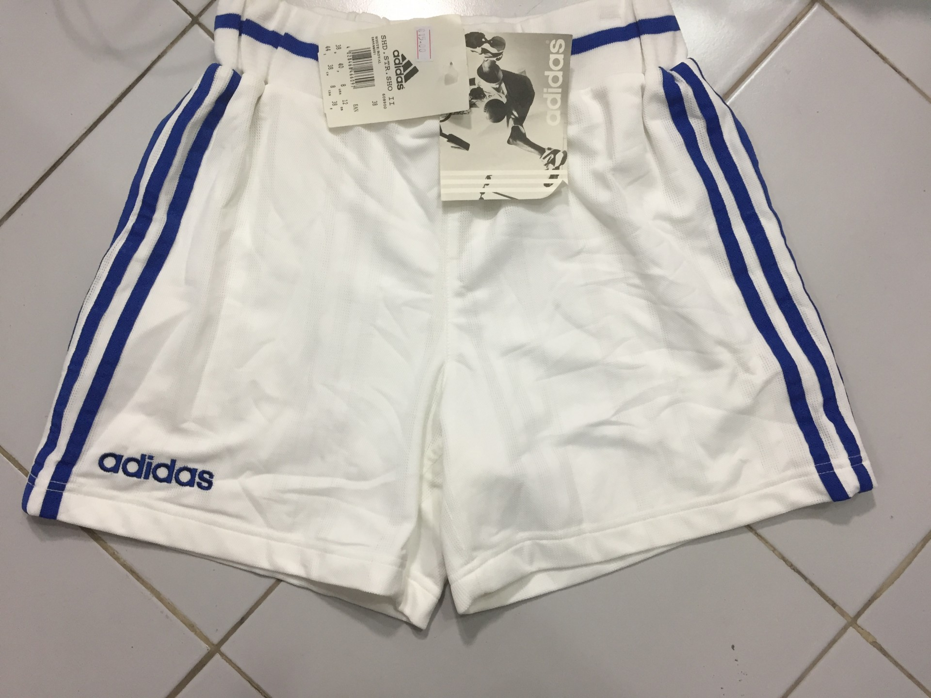 blue adidas basketball shorts
