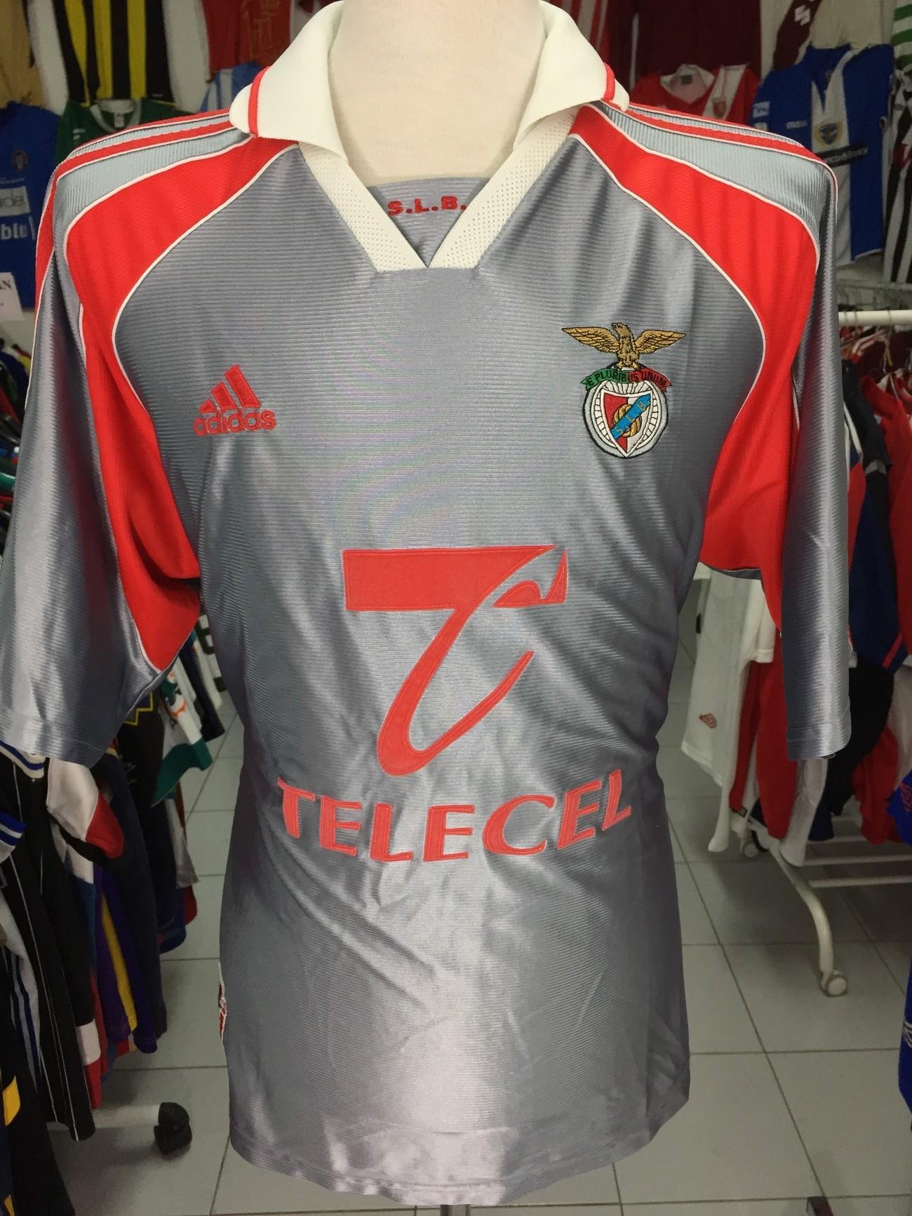 SL Benfica Away Shirt 1999-00 (XL) Adidas Camisola  6bddfe4325727