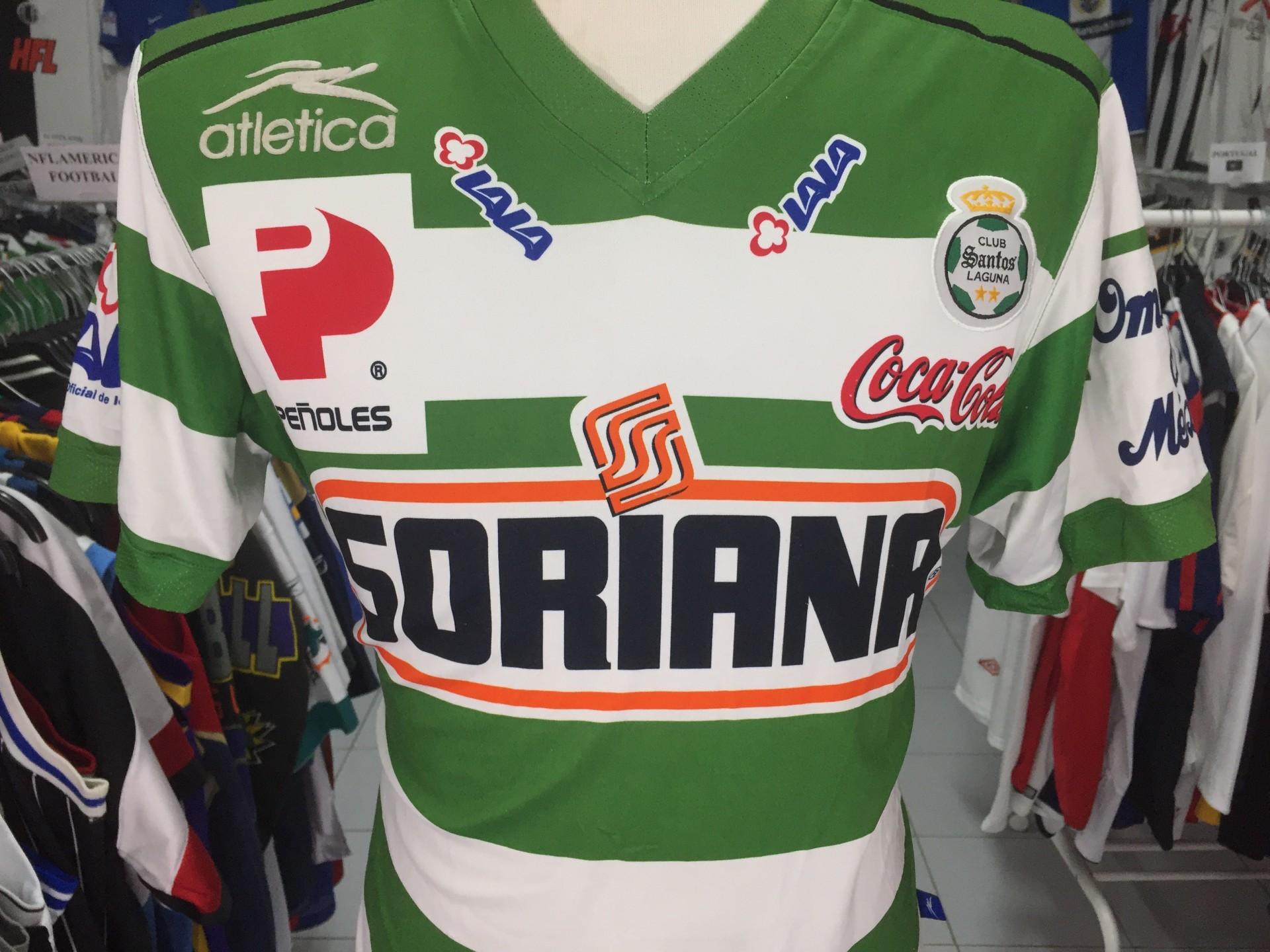1a7fca4df Santos Laguna Home Shirt 2006 (M) Mexico Camiseta Atletica