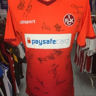 SIGNED 1.FC Kaiserslautern Home Shirt 2014-15 (L)