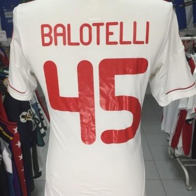 AC Milan Away Shirt 2012-13 (S) #45 Balotelli