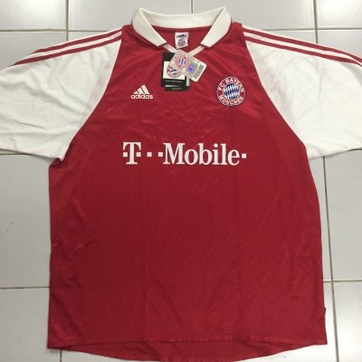 NEW Bayern Munich München Home Shirt 2003-04